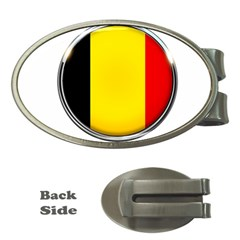 Belgium Flag Country Brussels Money Clips (oval)