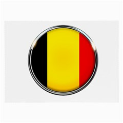 Belgium Flag Country Brussels Large Glasses Cloth (2 Side)