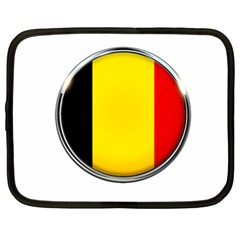 Belgium Flag Country Brussels Netbook Case (large)