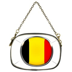 Belgium Flag Country Brussels Chain Purses (one Side)  by Nexatart