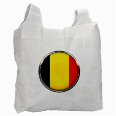 Belgium Flag Country Brussels Recycle Bag (one Side)