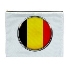 Belgium Flag Country Brussels Cosmetic Bag (xl)