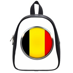 Belgium Flag Country Brussels School Bag (small)