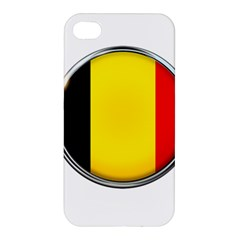 Belgium Flag Country Brussels Apple Iphone 4/4s Hardshell Case