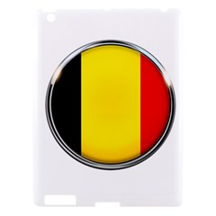 Belgium Flag Country Brussels Apple Ipad 3/4 Hardshell Case