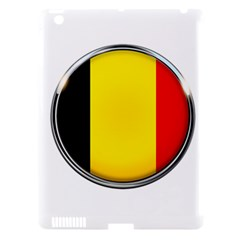 Belgium Flag Country Brussels Apple Ipad 3/4 Hardshell Case (compatible With Smart Cover)