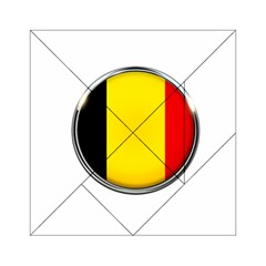 Belgium Flag Country Brussels Acrylic Tangram Puzzle (6  X 6 )