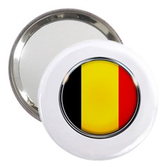 Belgium Flag Country Brussels 3  Handbag Mirrors