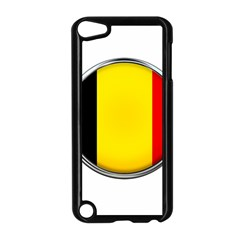 Belgium Flag Country Brussels Apple Ipod Touch 5 Case (black)