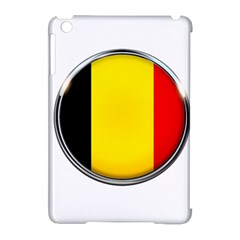 Belgium Flag Country Brussels Apple Ipad Mini Hardshell Case (compatible With Smart Cover)