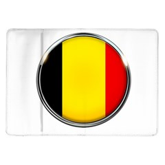 Belgium Flag Country Brussels Samsung Galaxy Tab 10 1  P7500 Flip Case