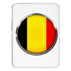 Belgium Flag Country Brussels Samsung Galaxy Tab 3 (10 1 ) P5200 Hardshell Case