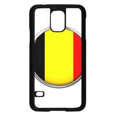 Belgium Flag Country Brussels Samsung Galaxy S5 Case (black)