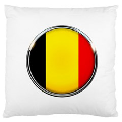 Belgium Flag Country Brussels Standard Flano Cushion Case (two Sides)