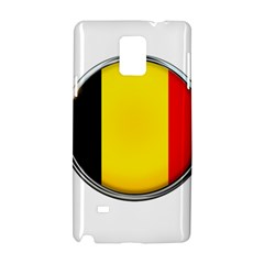 Belgium Flag Country Brussels Samsung Galaxy Note 4 Hardshell Case