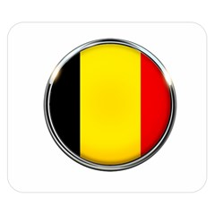 Belgium Flag Country Brussels Double Sided Flano Blanket (small)