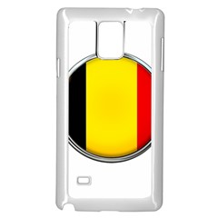 Belgium Flag Country Brussels Samsung Galaxy Note 4 Case (white)