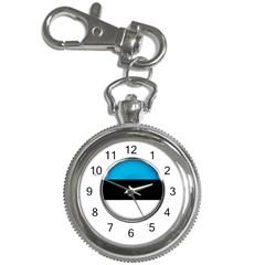 Estonia Country Flag Countries Key Chain Watches by Nexatart