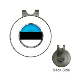 Estonia Country Flag Countries Hat Clips With Golf Markers