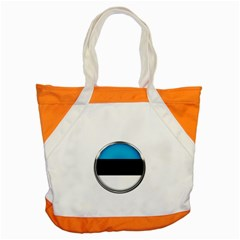 Estonia Country Flag Countries Accent Tote Bag