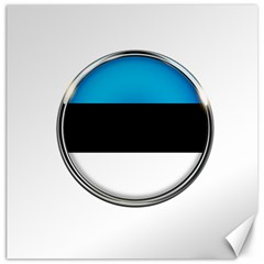 Estonia Country Flag Countries Canvas 12  X 12