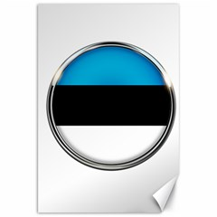 Estonia Country Flag Countries Canvas 20  X 30