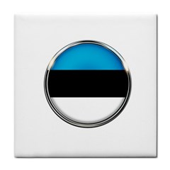 Estonia Country Flag Countries Face Towel