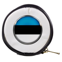 Estonia Country Flag Countries Mini Makeup Bags