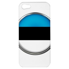 Estonia Country Flag Countries Apple Iphone 5 Hardshell Case