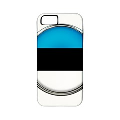 Estonia Country Flag Countries Apple Iphone 5 Classic Hardshell Case (pc+silicone)