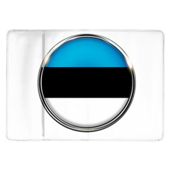 Estonia Country Flag Countries Samsung Galaxy Tab 10 1  P7500 Flip Case