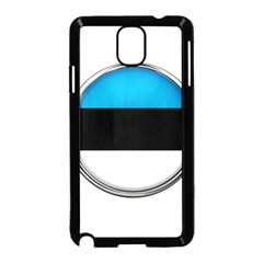 Estonia Country Flag Countries Samsung Galaxy Note 3 Neo Hardshell Case (black)