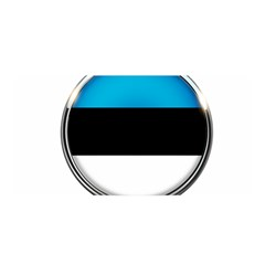 Estonia Country Flag Countries Satin Wrap by Nexatart