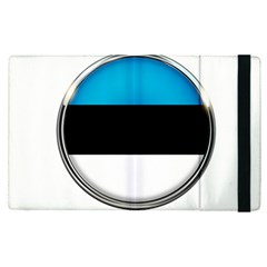Estonia Country Flag Countries Apple Ipad Pro 12 9   Flip Case by Nexatart