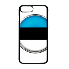 Estonia Country Flag Countries Apple Iphone 7 Plus Seamless Case (black) by Nexatart