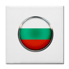 Bulgaria Country Nation Nationality Tile Coasters