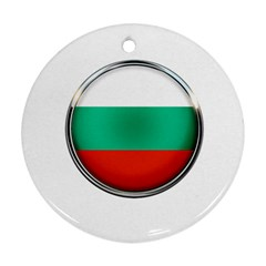 Bulgaria Country Nation Nationality Ornament (round)