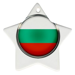 Bulgaria Country Nation Nationality Ornament (star)