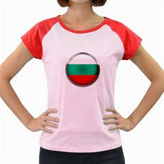 Bulgaria Country Nation Nationality Women s Cap Sleeve T Shirt