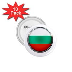 Bulgaria Country Nation Nationality 1 75  Buttons (10 Pack)