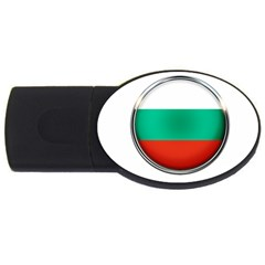 Bulgaria Country Nation Nationality Usb Flash Drive Oval (2 Gb) by Nexatart