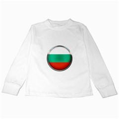 Bulgaria Country Nation Nationality Kids Long Sleeve T Shirts
