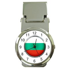 Bulgaria Country Nation Nationality Money Clip Watches
