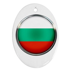 Bulgaria Country Nation Nationality Oval Ornament (two Sides)