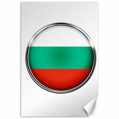 Bulgaria Country Nation Nationality Canvas 24  X 36