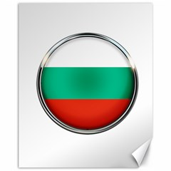 Bulgaria Country Nation Nationality Canvas 11  X 14