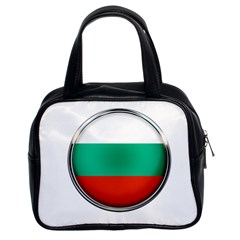 Bulgaria Country Nation Nationality Classic Handbags (2 Sides)