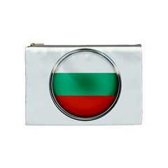 Bulgaria Country Nation Nationality Cosmetic Bag (medium)