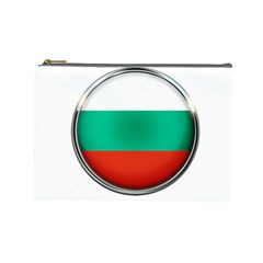 Bulgaria Country Nation Nationality Cosmetic Bag (large)