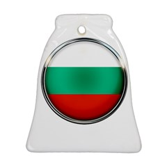 Bulgaria Country Nation Nationality Bell Ornament (two Sides)